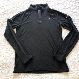 NEVER WORN Old Navy long sleeve active top grey